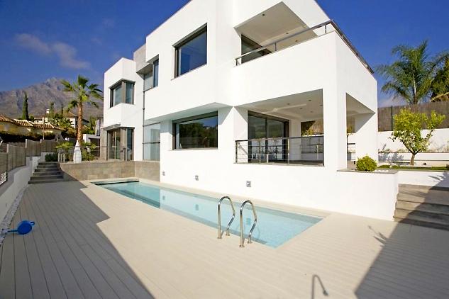 Marbella Milla De Oro Villa Moderna En Venta