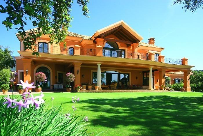 Villa de lujo en venta complejo de golf marbella benahavis - Casa de lujo en marbella ...