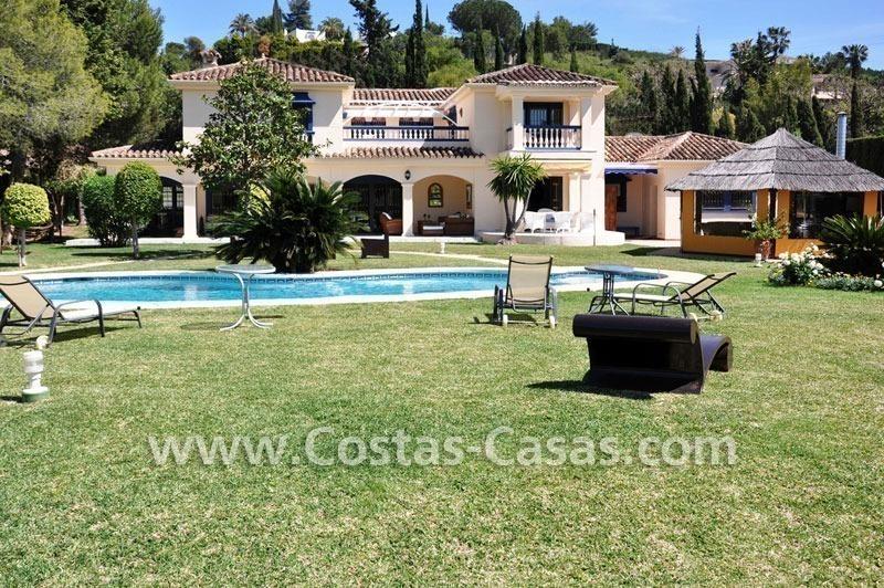 Villa lujo a la venta primera l nea golf marbella oeste for Villa jardin lanus oeste