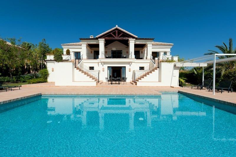 Villa de lujo a la venta marbella benahavis - Casas de lujo en marbella ...