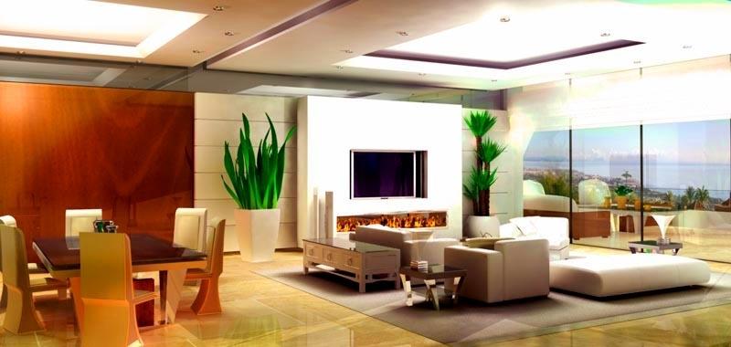 Apartamentos ticos nuevos moderno a la venta milla oro for Apartamentos modernos playa