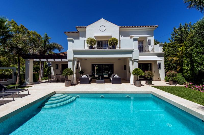 Nueva villa de lujo a la venta benahavis marbella - Casa de lujo en marbella ...