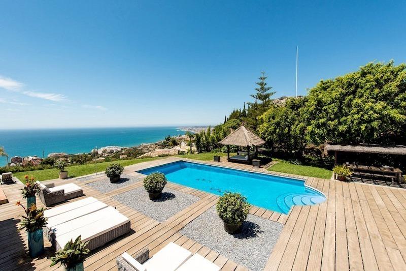 Moderna villa de lujo en venta en benalmadena costa del sol - Fotos de benalmadena costa ...