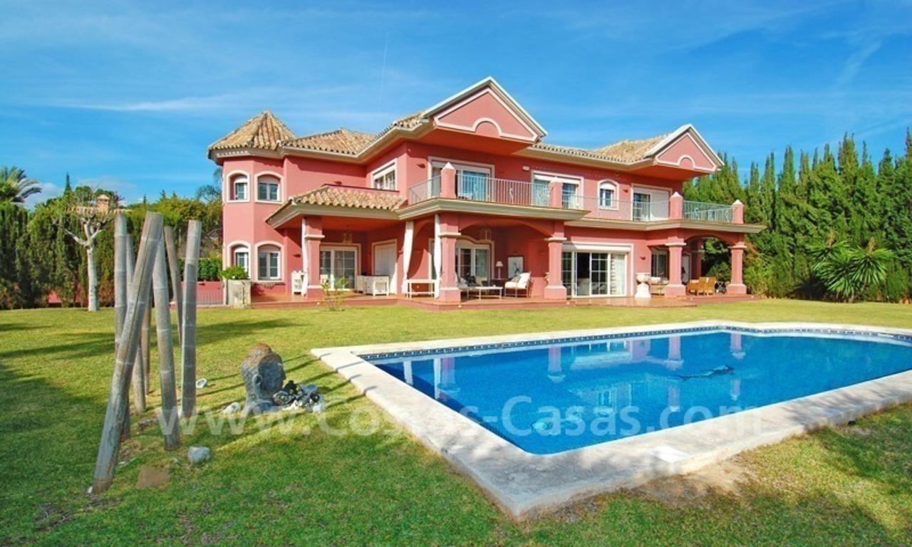 Villa Lujo Clasica Comprar Nueva Andalucia Puerto Banus Marbella