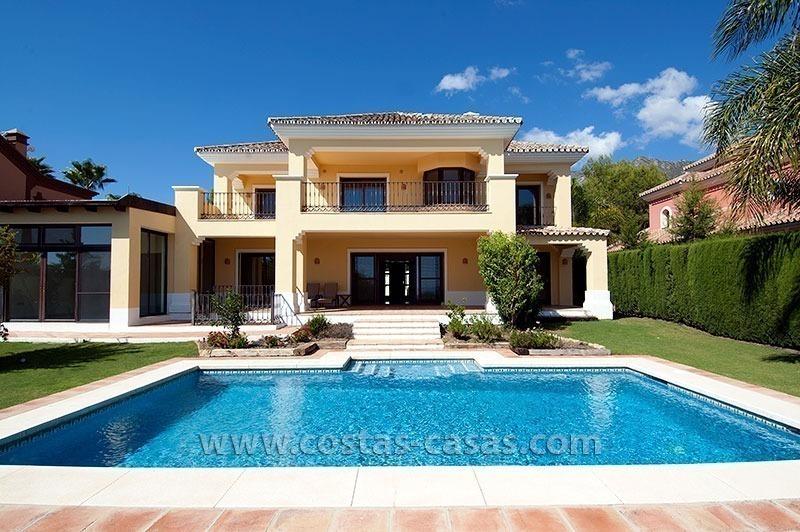En venta milla de oro marbella villa de lujo - Casas de lujo en marbella ...