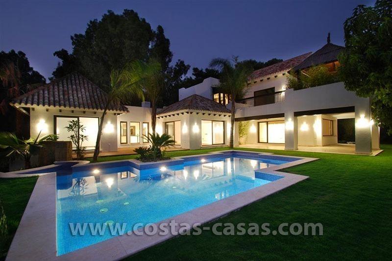 En venta nueva villa moderna lujo marbella - Casas de lujo en marbella ...