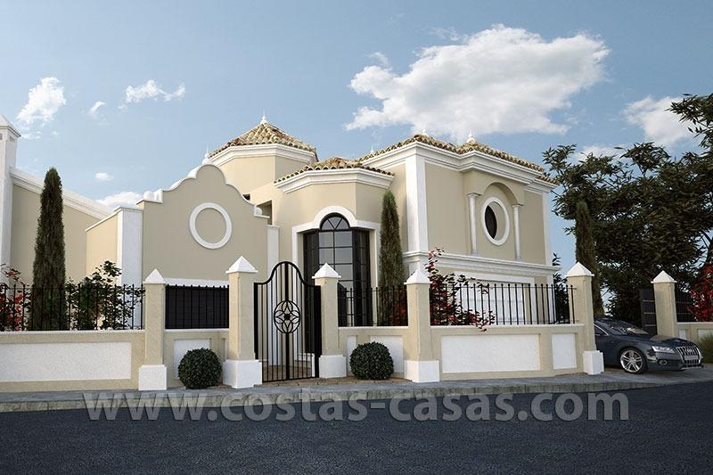 En venta nueva villa lujo estilo clasico marbella - Casas de lujo en marbella ...
