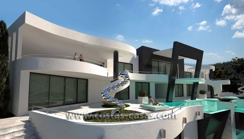En Venta Nueva Villa Lujo Ultra Moderna Marbella