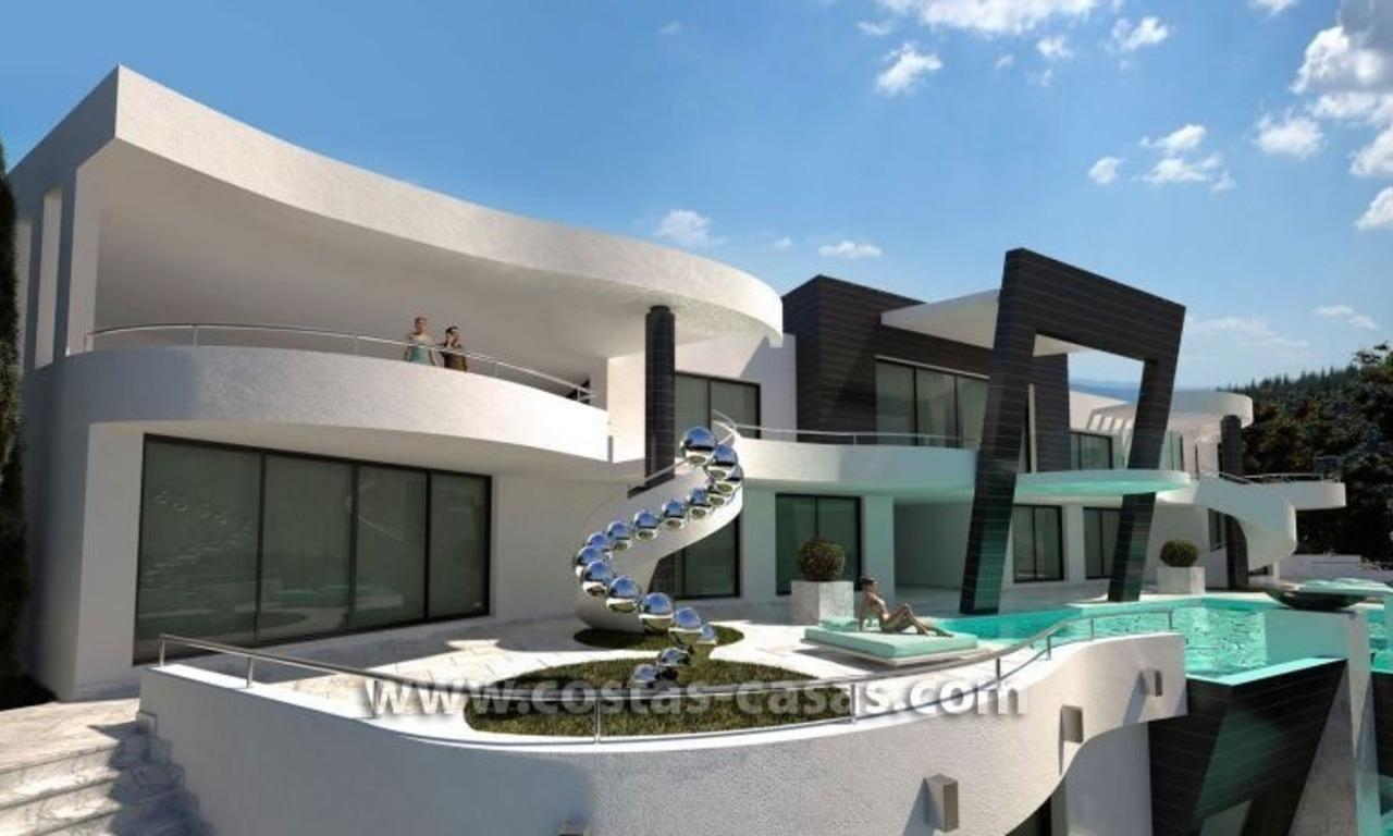 en venta nueva villa lujo ultra moderna marbella. Black Bedroom Furniture Sets. Home Design Ideas