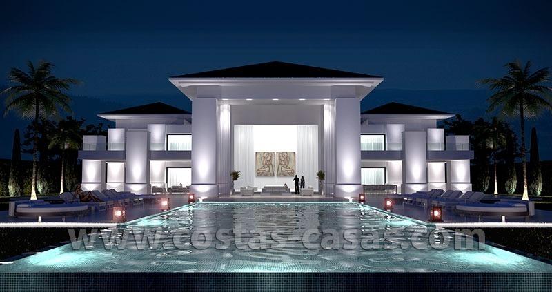 Nueva villa lujo moderna en venta marbella este con vistas - Casa de lujo en marbella ...