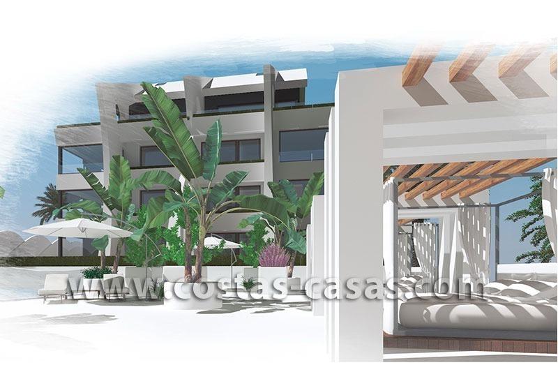 En venta nuevos apartamentos modernos playa marbella for Apartamentos modernos playa