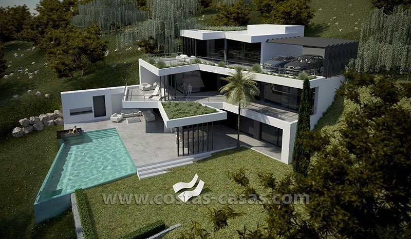 Nueva villa lujo moderna en venta marbella - Maison moderne de luxe a vendre ...