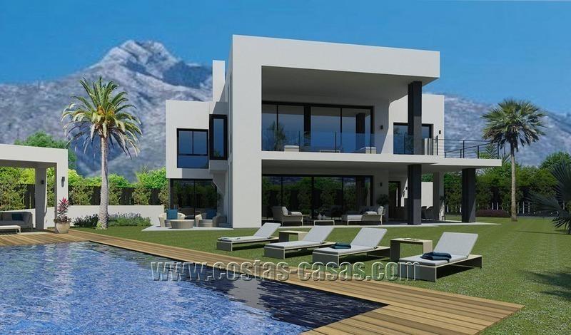 En Venta Nueva Villa Contemporanea Milla Oro Marbella