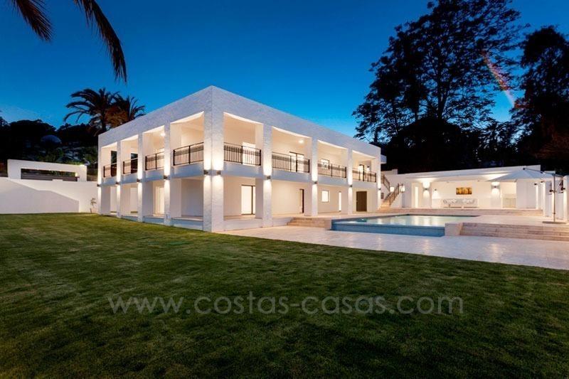 En venta villa moderna campo golf nueva andaluc a marbella - Domotica marbella ...