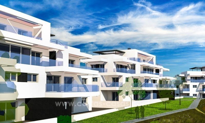 Nuevos apartamentos modernos lujo en venta benahavis marbella for Apartamentos modernos playa