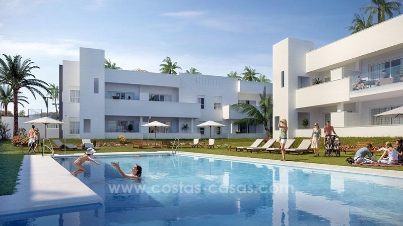 Apartamentos modernos nuevos ven venta nueva andaluc a for Apartamentos modernos playa