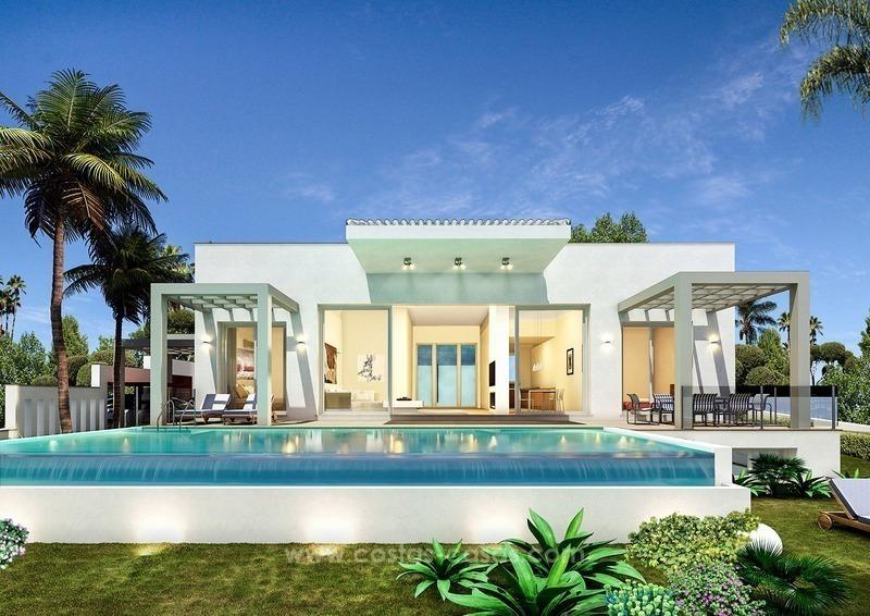 Nueva villa moderna de lujo en venta en nueva andaluc a - Casa de lujo en marbella ...