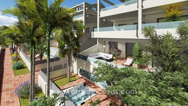 Nuevos apartamentos y ticos modernos en venta marbella estepona - Apartamentos en venta en estepona ...