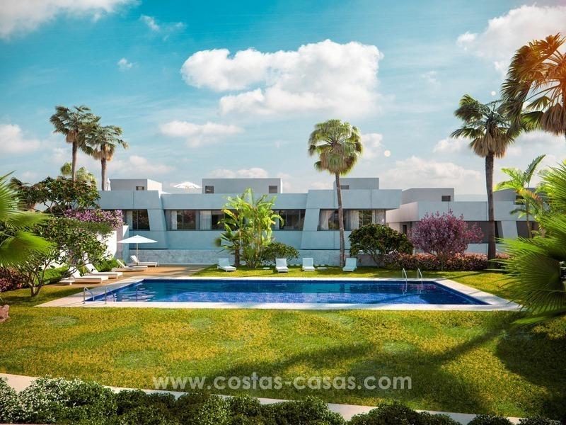 Casas adosadas modernas de lujo en venta en marbella este - Casas de lujo en marbella ...
