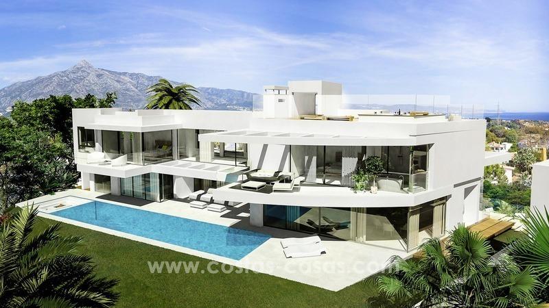 Villas de lujo ultra modernas en venta en nueva andalucia - Casas de lujo en marbella ...